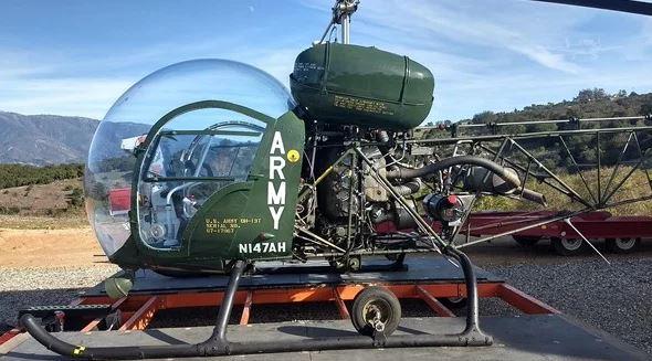 1968  Bell Helicopter full