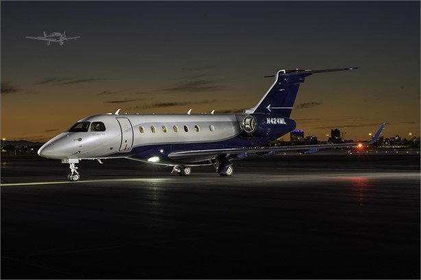 2014  Embraer Legacy full