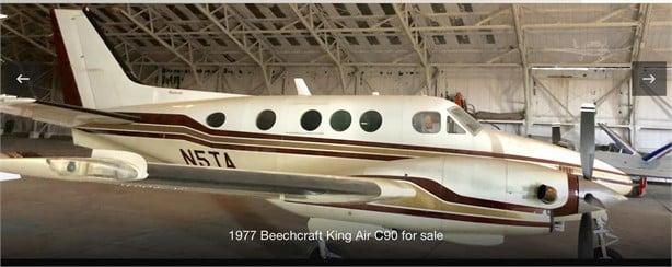 1977  Beechcraft King Air C90 full