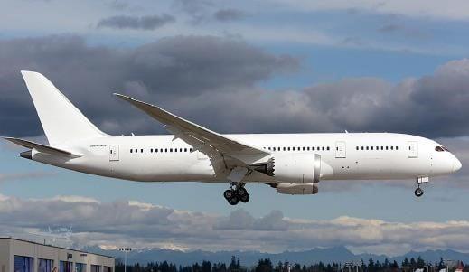 2017  Boeing 787 full