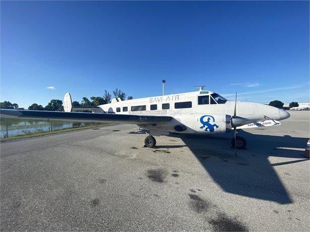 1960  Beechcraft Turboprop full