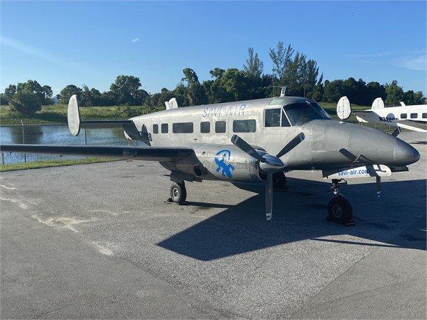 1954  Beechcraft Turboprop full