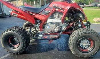 2019 Clean Raptor 700 SE Red full